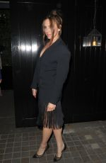 Melanie C Arrives at Chiltern Firehouse for Kylie Minogue