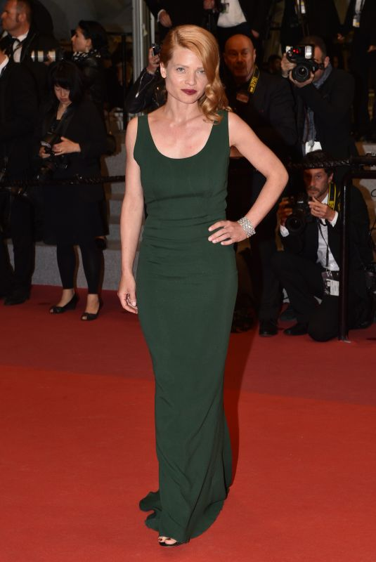 Melanie Thierry At Under the Silver Lake Premiere - 71st Cannes Film Festival