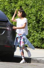 Mila Kunis Spotted running errands in Los Angeles