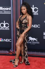 Normani Kordei At 2018 Billboard Music Awards at MGM Grand Garden Arena in Las Vegas