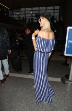 Paris Hilton Departing from LAX airport