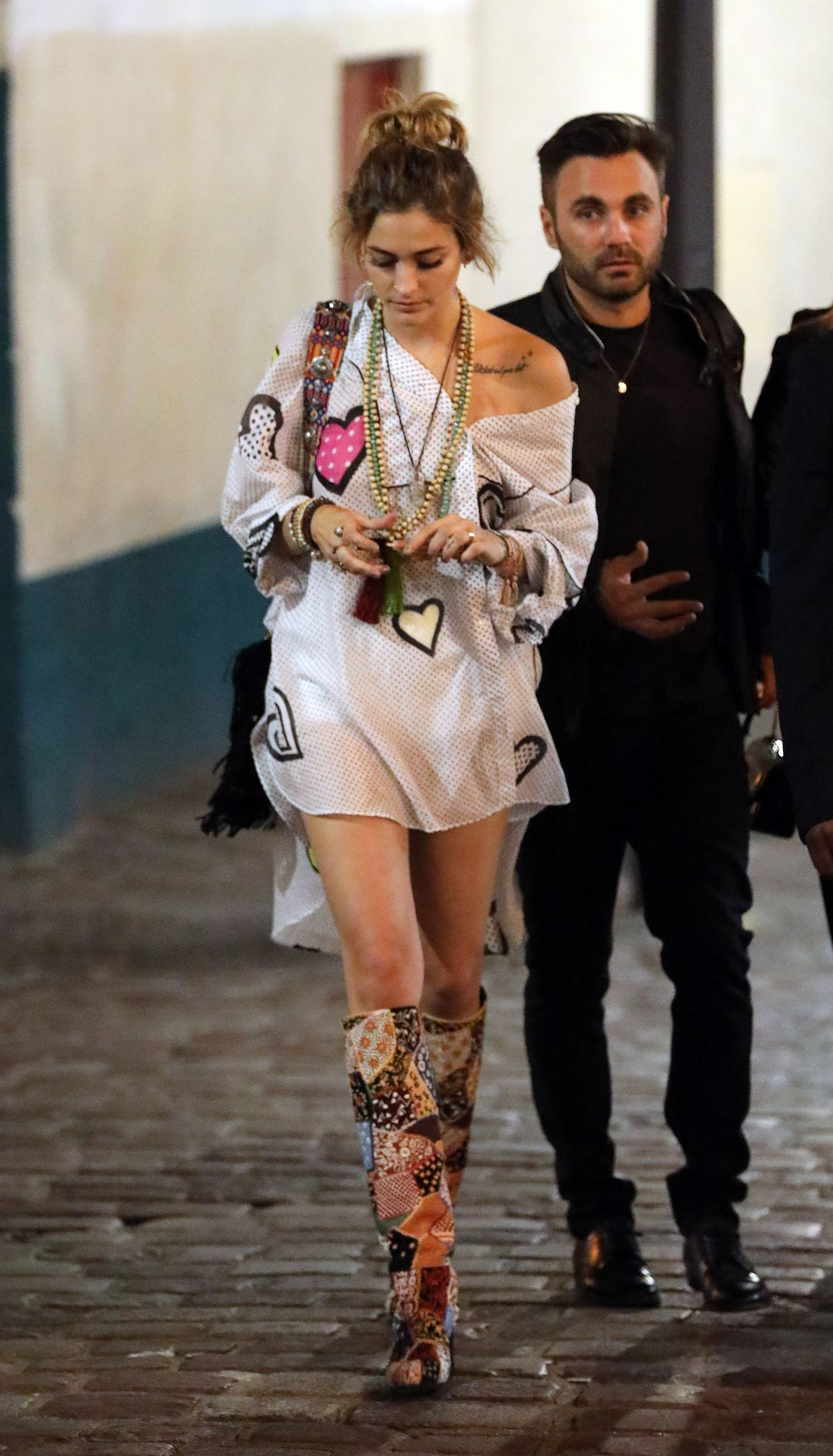 Paris Jackson At The Welcome Dinner Of The Christian Dior