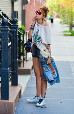 Paris Jackson Out in New York