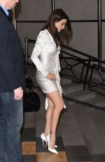 Penelope Cruz Leaves hotel Marriott in Cannes during the 71th Cannes International Film Festival
