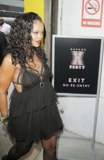 Rihanna At Savage X Fenty Lingerie Launch Party