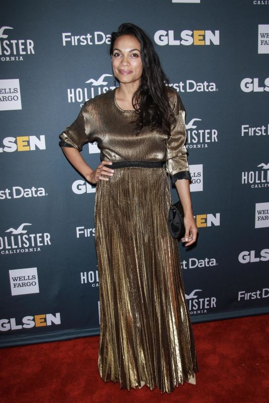 Rosario Dawson At GLSEN 2018 Respect Awards at Cipriani 42nd Street in New York City