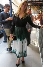 Sasha Pieterse Stops by Lincoln Center area for ABC Upfront event in New York
