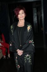 Sharon Osbourne At The 3rd Annual Rock the Red Music Benefit at Avalon Nightclub in Hollywood