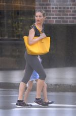 Sienna Miller Heading to the gym in New York City