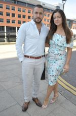 Sophie Austin Arrives For The Christening Of Jennifer Metcalfes Baby In Liverpool