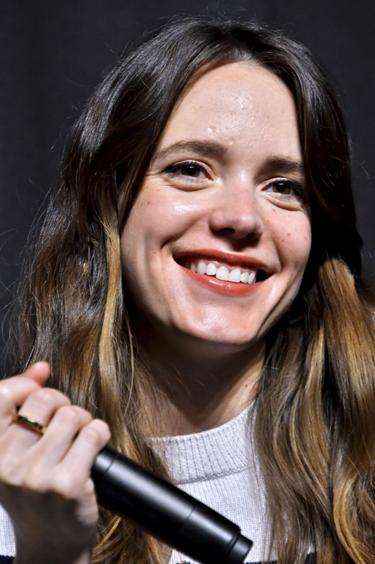 Stacy Martin At 'Le Redoutable' film press conference, Tokyo