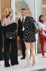 Tallia Storm Arriving at her hotel during the 71st Cannes Festival 2018
