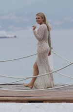 Tallia Storm At the Cannes Film Festival 2018