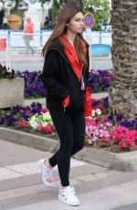 Thylane Blondeau Out and about during 71st Cannes Film festival