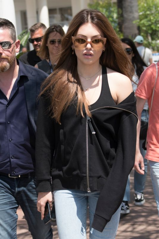 Thylane Blondeau Out in Cannes