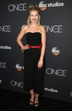 Tiera Skovbye At Once Upon a Time Finale Event