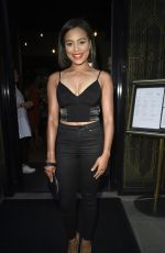 Tisha Merry At the third birthday party for the Hotel Gotham in Manchester, UK