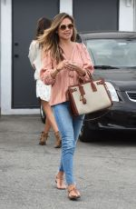 Vanessa Lachey Out in Beverly Hills