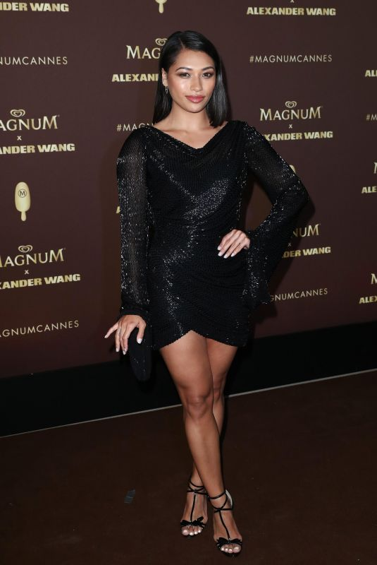 Vanessa White At Magnum x Alexander Wang party, 71st Cannes Film Festival, France