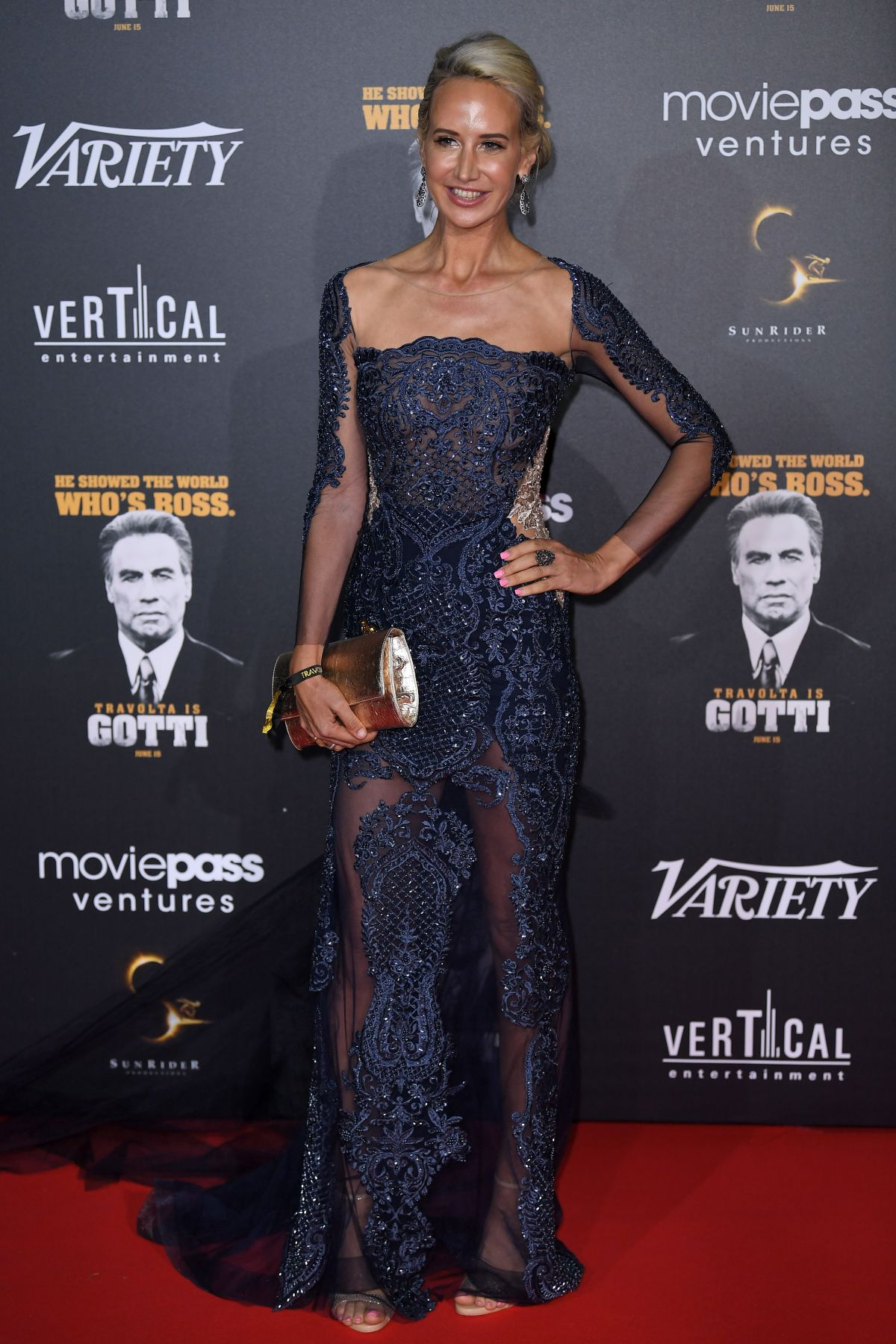 Victoria Hervey At 'Gotti' premiere, After Party, 71st Cannes Film Festival