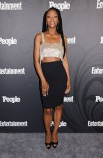 YaYa DaCosta At Entertainment Weekly and People Upfronts Party, Bowery Hotel, New York