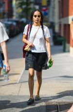 Zoe Kravitz Out in New York City