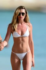 Abbey Clancy On romantic holiday in Barbados