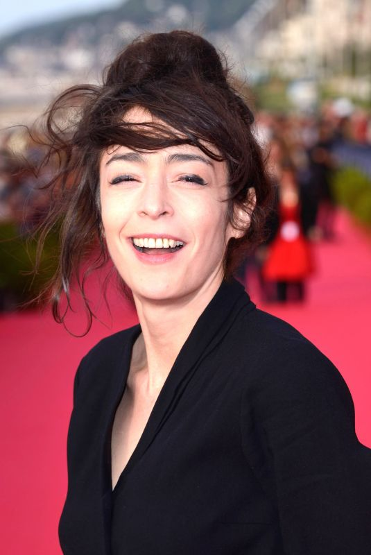 Adrienne Pauly At Photocall during Day 3 of the 32nd Cabourg Film Festival in Cabourg, France