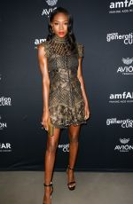 Afiya Bennett At amfAR GenCure Solstice 2018 at SECOND in New York