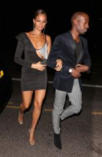 Alesha Dixon Attends the Britain