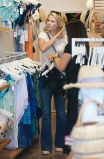 Ali Larter Gets ready for Summer as she buys a bikini from Everything But Water in Brentwood