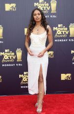 Alisha Boe At 2018 MTV Movie And TV Awards at Barker Hangar in Santa Monica