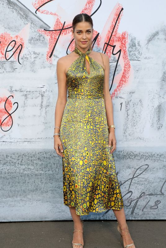 Ana Beatriz Barros At Serpentine Gallery Summer Party, Kensington Gardens, London, UK