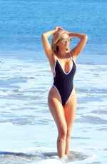 Ana Braga In a skimpy thong monokini in Malibu Beach