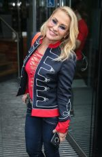 Anastacia Visiting AOL Build LDN HQ for interviews in London