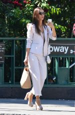 Angela Sarafyan Out and about in New York City