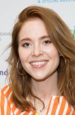Angela Scanlon At The London Irish Center Gala in Camden, London
