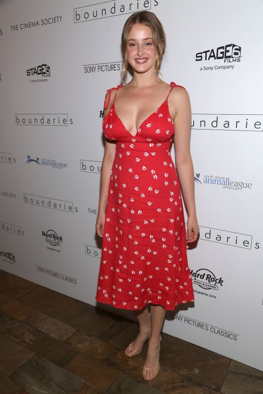 Anna Van Patten At Screening of Sony Pictures Classics