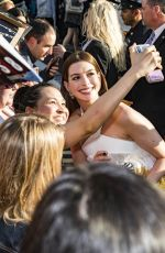 Anne Hathaway Arriving at