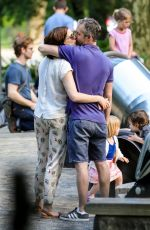 Anne Hathaway Spending time with her family in New York City