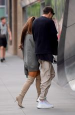 Ariana Grande Leaves Her Pants At Home For Day Out With Pete Davidson In NYC