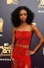 Ashleigh Murray At MTV Movie & TV Awards, Los Angeles