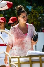 Ashley Graham Hits up the pool in Miami Beach for a little sun and relaxation