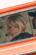 Avril Lavigne With her new boyfriend Phillip Sarofim enjoying a vacation on Lake Como in Italy