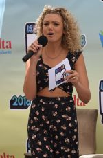 Becca Dudley At Isle of MTV, press conference, Malta