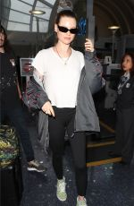 Behati Prinsloo Arriving at LAX Airport in LA