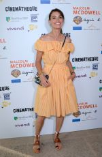 Berenice Bejo At Malcolm McDowell Retrospective at the Cinematheque Francaise - Paris