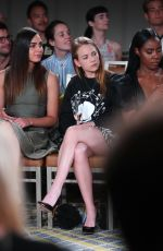 Britt Robertson At Wolk Morais Collection 7 Fashion Show at The Jeremy Hotel in Los Angeles