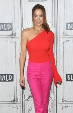 Brooke Burke Visits Build Series to discuss Summer Slimdown Challenge at Build Studio in New York City