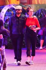Caitlin McHugh At the Universal City Walk in Los Angeles